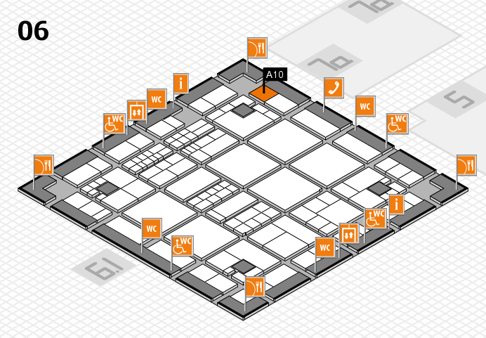 interpack 2017 hall map (Hall 6): stand A10