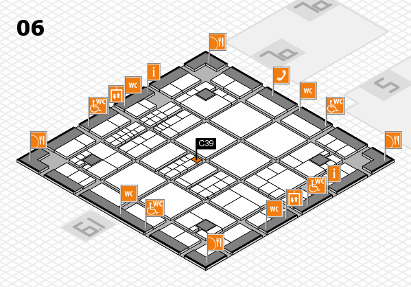 interpack 2017 hall map (Hall 6): stand C39