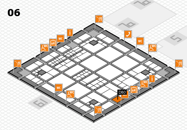 interpack 2017 hall map (Hall 6): stand D80