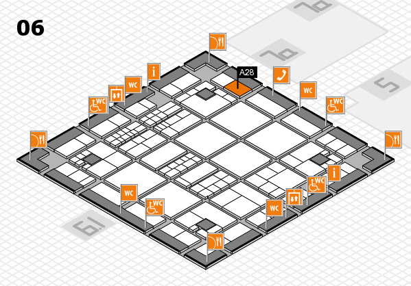 interpack 2017 hall map (Hall 6): stand A28