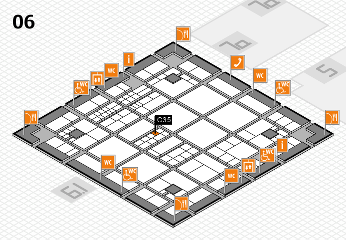 interpack 2017 hall map (Hall 6): stand C35