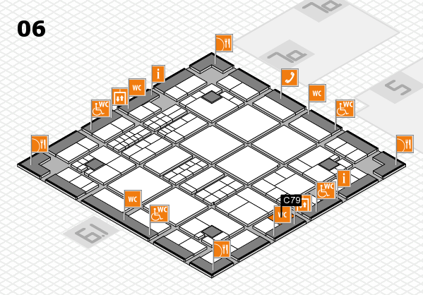 interpack 2017 hall map (Hall 6): stand C79