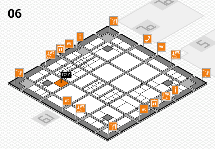 interpack 2017 hall map (Hall 6): stand D27