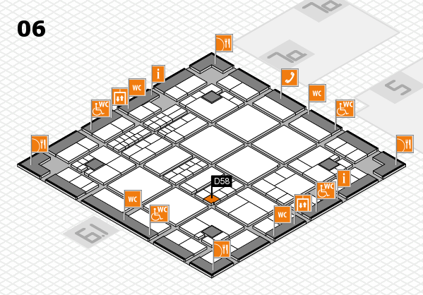 interpack 2017 hall map (Hall 6): stand D58