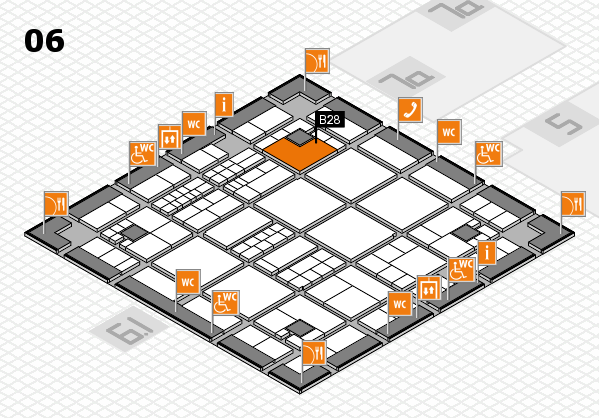 interpack 2017 hall map (Hall 6): stand B28
