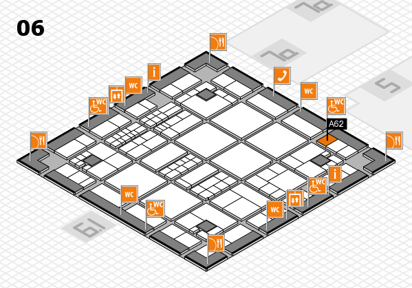 interpack 2017 hall map (Hall 6): stand A62