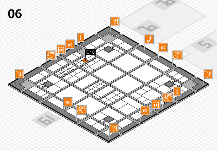 interpack 2017 hall map (Hall 6): stand C10