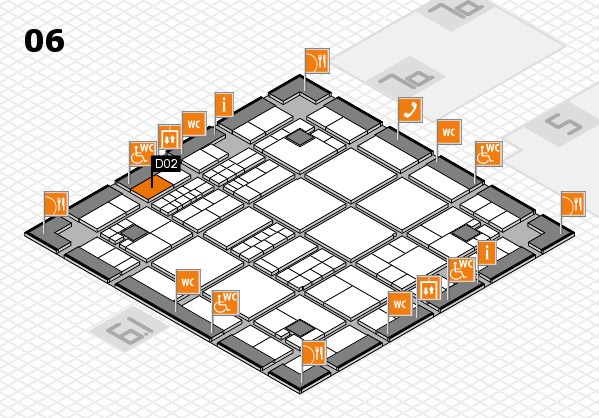 interpack 2017 hall map (Hall 6): stand D02
