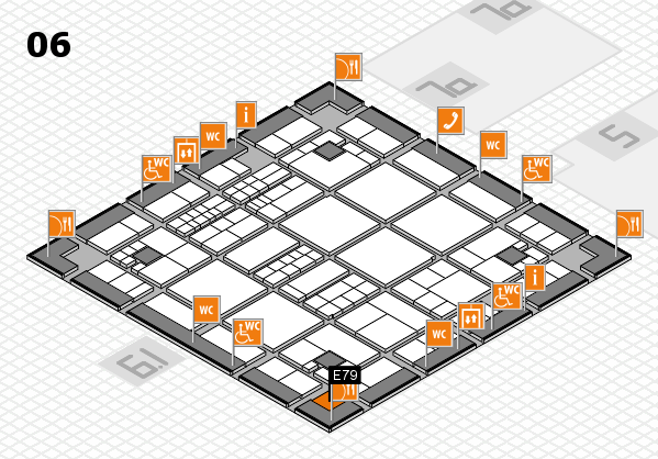 interpack 2017 hall map (Hall 6): stand E79