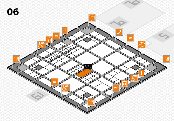 interpack 2017 hall map (Hall 6): stand C43