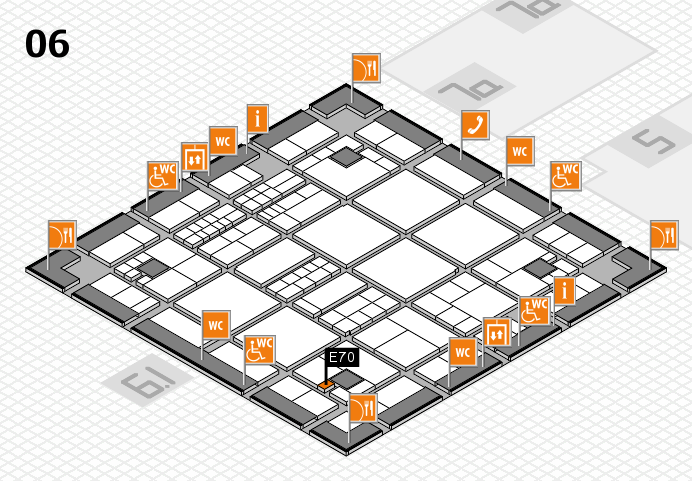 interpack 2017 hall map (Hall 6): stand E70