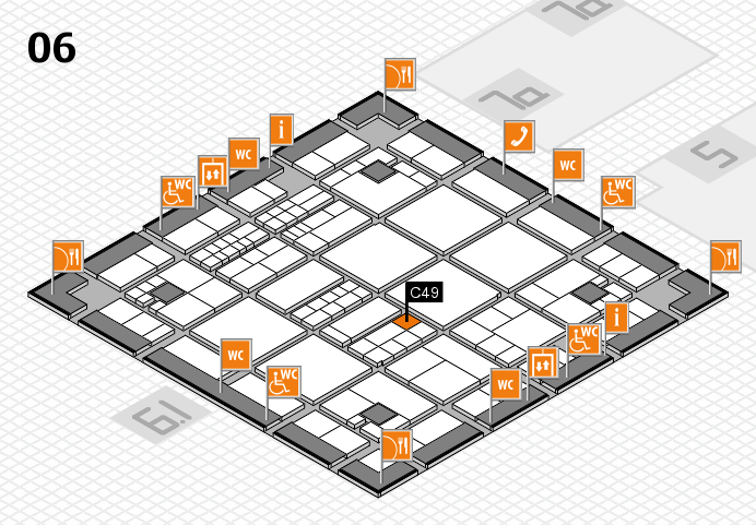 interpack 2017 hall map (Hall 6): stand C49