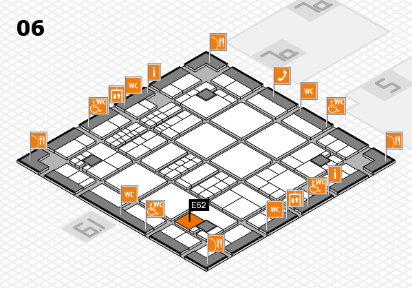 interpack 2017 hall map (Hall 6): stand E62
