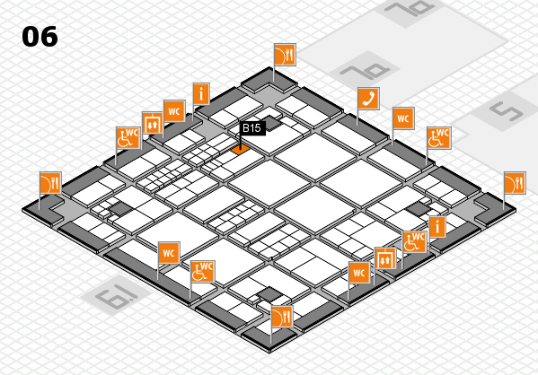 interpack 2017 hall map (Hall 6): stand B15