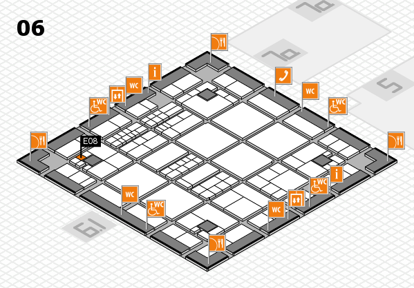interpack 2017 hall map (Hall 6): stand E08