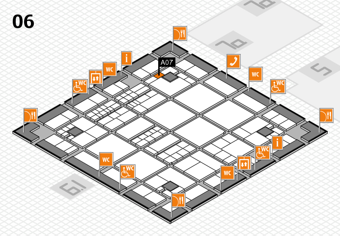 interpack 2017 hall map (Hall 6): stand A07