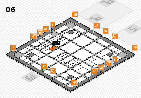 interpack 2017 hall map (Hall 6): stand C27