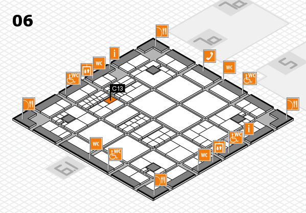 interpack 2017 hall map (Hall 6): stand C13