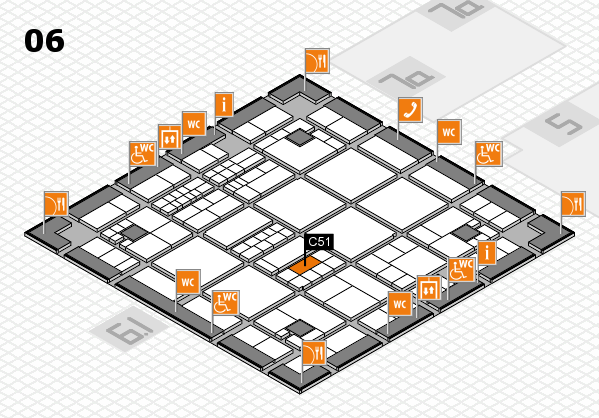 interpack 2017 hall map (Hall 6): stand C51