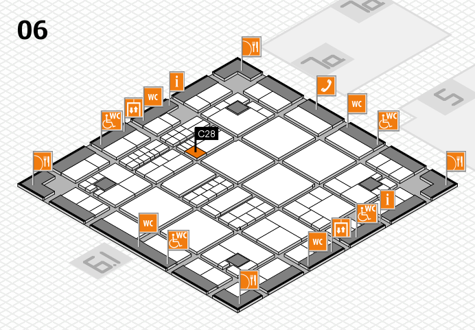 interpack 2017 hall map (Hall 6): stand C28