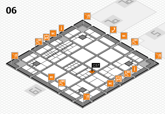 interpack 2017 hall map (Hall 6): stand C57