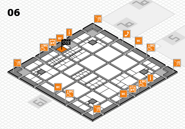 interpack 2017 hall map (Hall 6): stand C02
