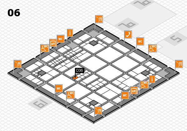 interpack 2017 hall map (Hall 6): stand D36