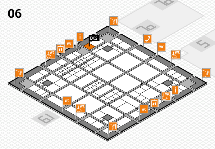interpack 2017 hall map (Hall 6): stand B02