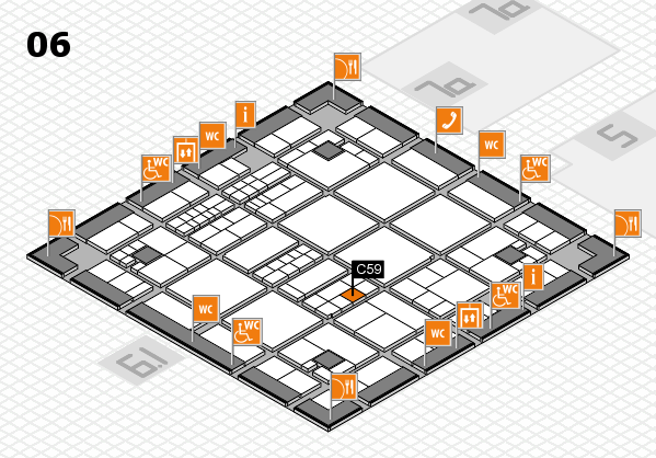 interpack 2017 hall map (Hall 6): stand C59