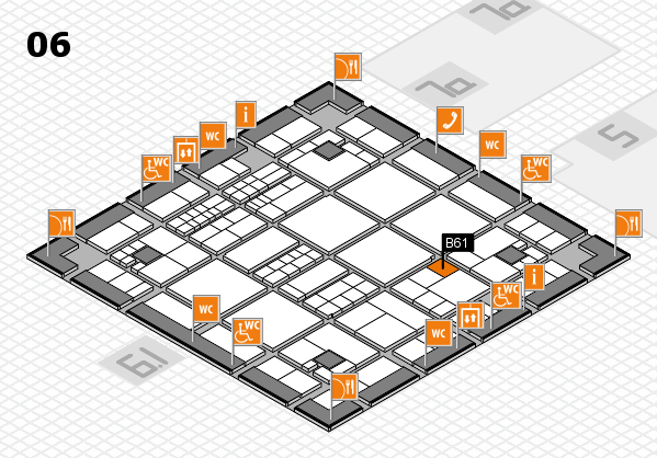 interpack 2017 hall map (Hall 6): stand B61