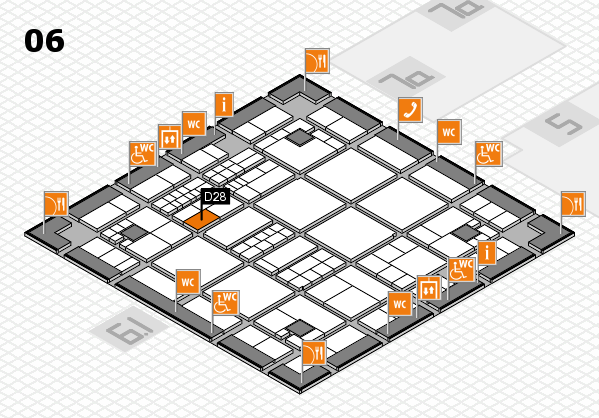 interpack 2017 hall map (Hall 6): stand D28