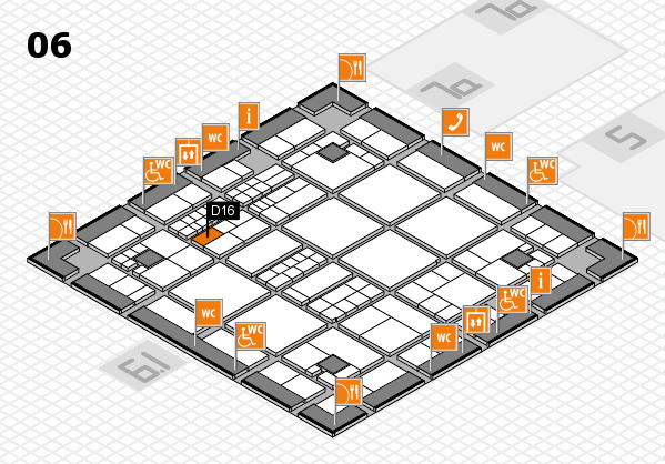 interpack 2017 hall map (Hall 6): stand D16