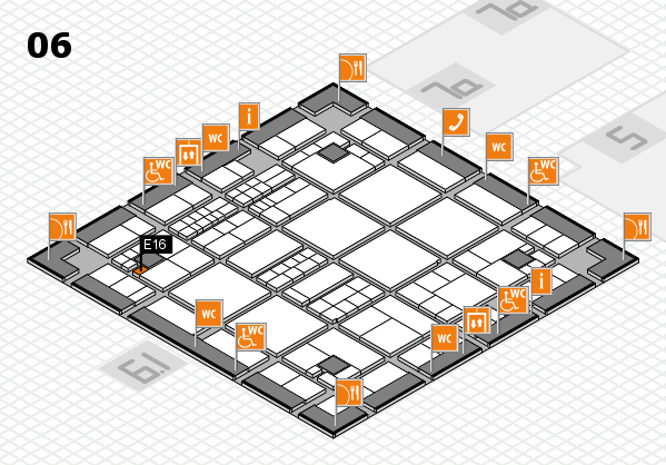 interpack 2017 hall map (Hall 6): stand E16