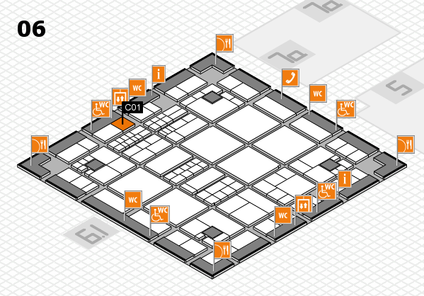 interpack 2017 hall map (Hall 6): stand C01