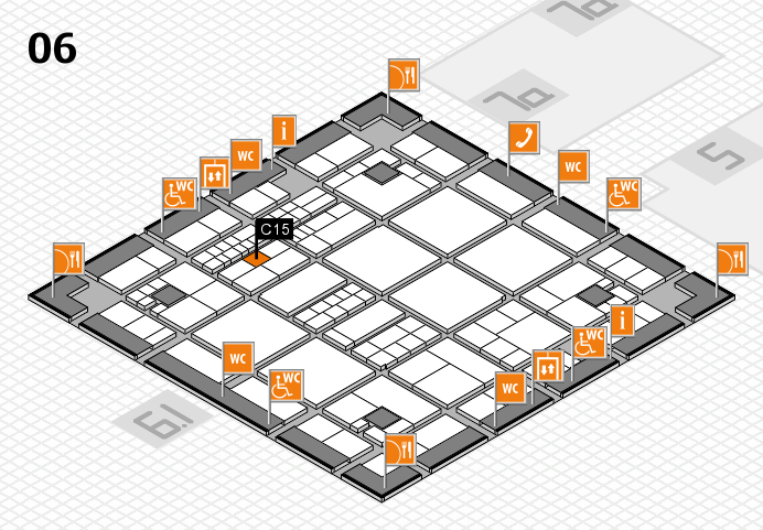interpack 2017 hall map (Hall 6): stand C15