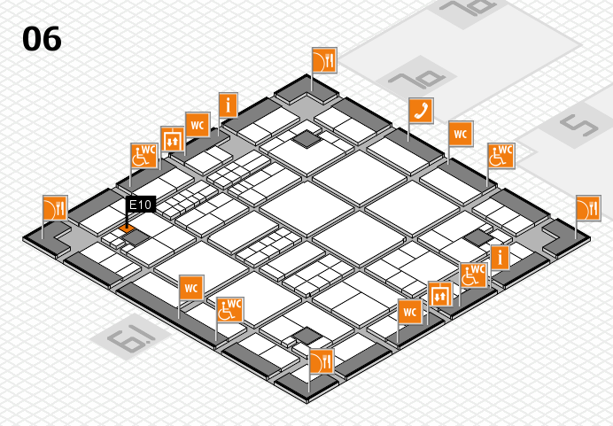 interpack 2017 hall map (Hall 6): stand E10