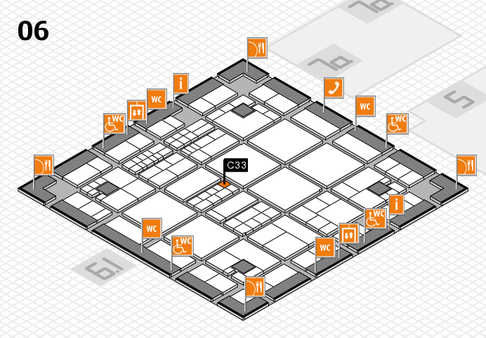 interpack 2017 hall map (Hall 6): stand C33
