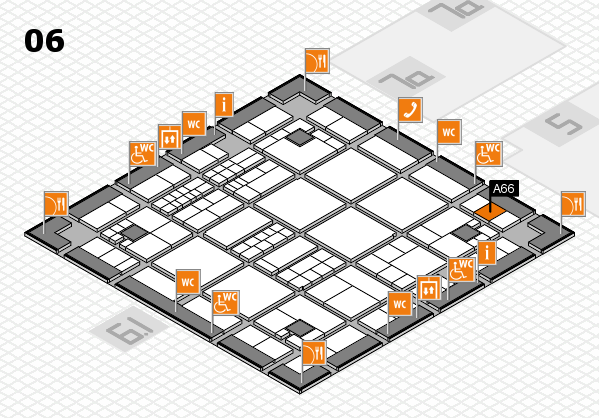 interpack 2017 hall map (Hall 6): stand A66