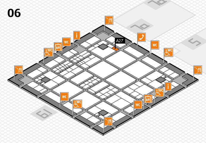 interpack 2017 hall map (Hall 6): stand A27