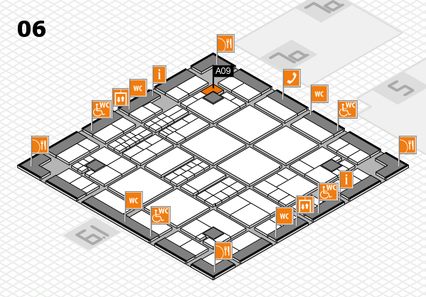 interpack 2017 hall map (Hall 6): stand A09