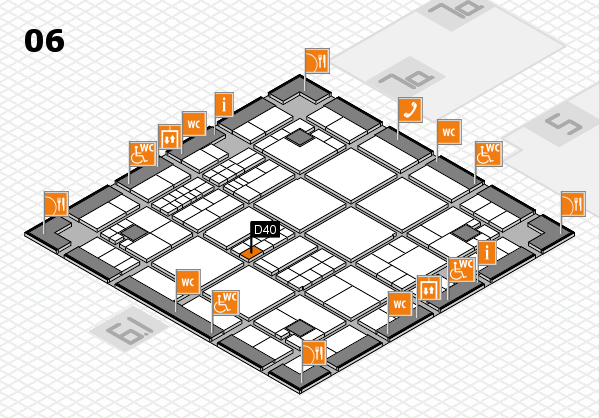 interpack 2017 hall map (Hall 6): stand D40