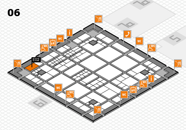 interpack 2017 hall map (Hall 6): stand E02