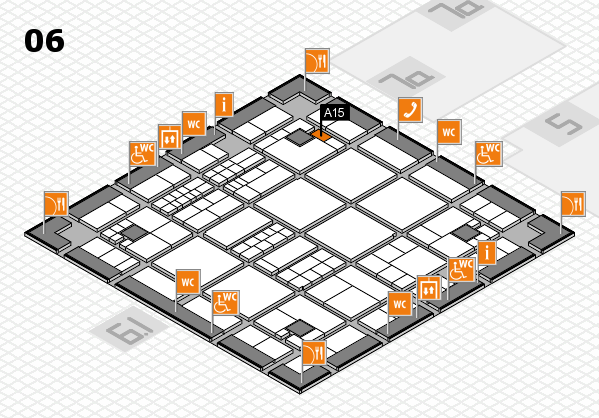 interpack 2017 hall map (Hall 6): stand A15