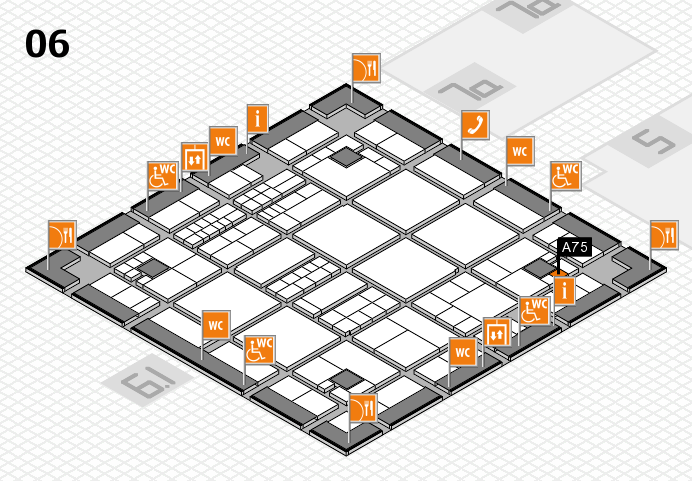 interpack 2017 hall map (Hall 6): stand A75