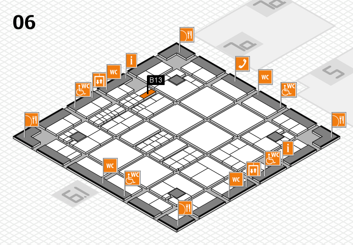 interpack 2017 hall map (Hall 6): stand B13