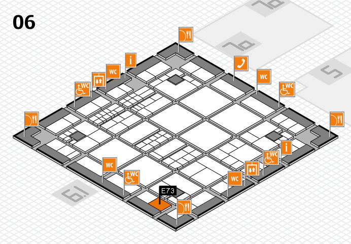 interpack 2017 hall map (Hall 6): stand E73