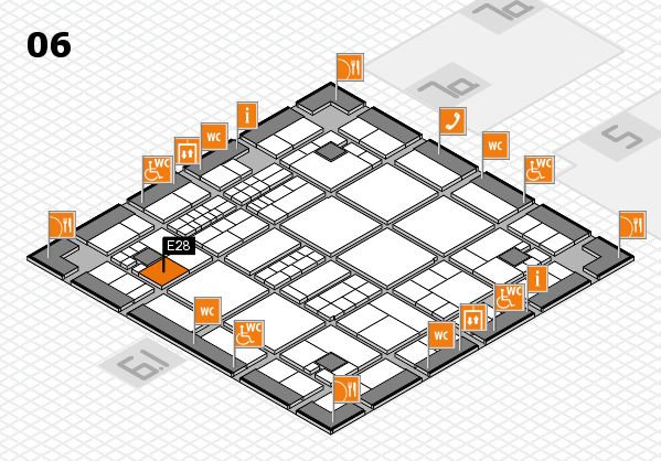 interpack 2017 hall map (Hall 6): stand E28