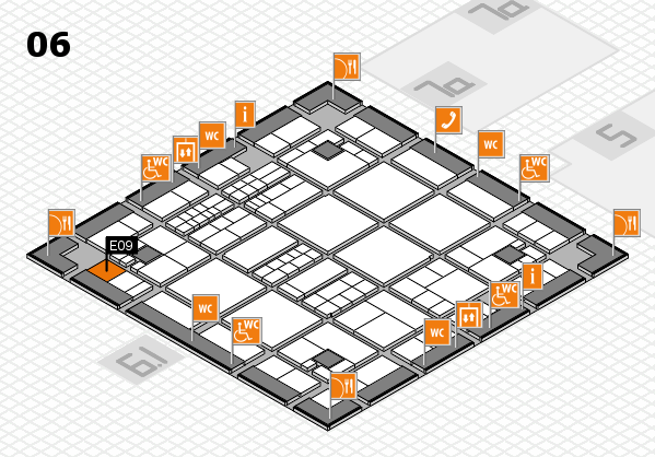 interpack 2017 hall map (Hall 6): stand E09