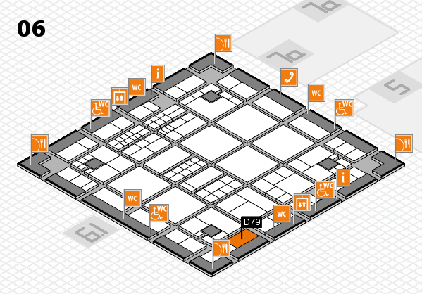 interpack 2017 hall map (Hall 6): stand D79