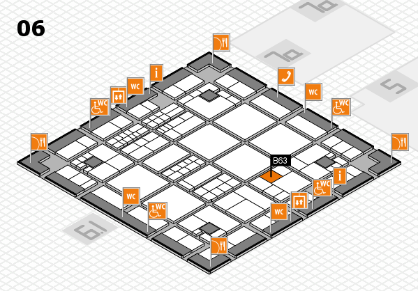 interpack 2017 hall map (Hall 6): stand B63